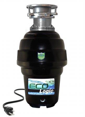 Eco-Logic 10 Premium 1 1/4 HP 3-Bolt Garbage Disposer (3 Bolt Disposer)