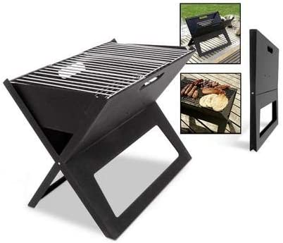 DLINMEI Household Portable Charcoal Grill Folding Collapsible Outdoor Barbecue Grill Carbon Oven