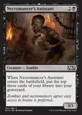 Magic: the Gathering - Necromancer's Assistant (107/269) - Magic 2015