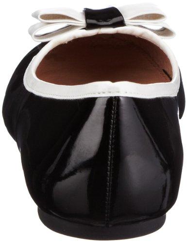 London Bailarinas 1 Buffalo mujer para 211 132235 6799 Negro PU PATENT Up7dx
