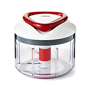 ZYLISS Easy Pull Food Chopper and Manual Food Processor – Vegetable Slicer and Dicer – Hand Held