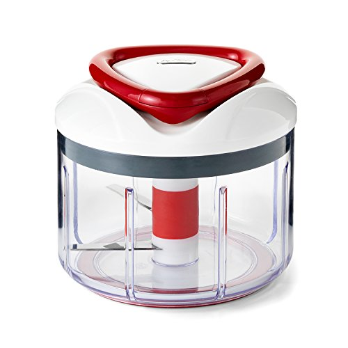 ZYLISS Easy Pull Food Chopper and Manual Food Processor - Vegetable Slicer and Dicer - Hand Held (Manual Food Slicer)