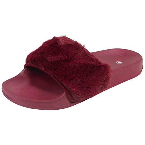 Loud Sliders femme femme Look Sliders Look Bordeaux Bordeaux Sliders Loud Bordeaux Loud Look femme rPrqwRH5