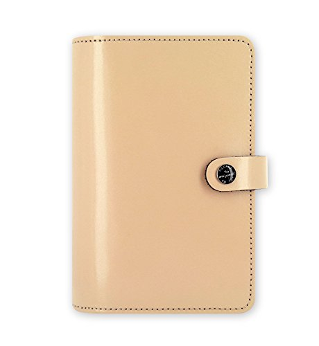 - Filofax The Original Patent Nude Personal Size Leather Organizer Agenda Ring Binder Diary Non Dated Calendar with DiLoro Jot Pad Refills 022386