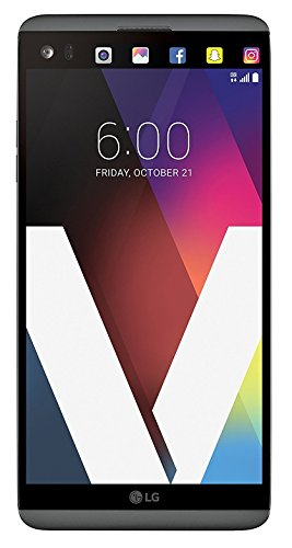 LG V20 64GB 5.7 IPS LCD Display Android Smartphone w/Dual Rear Cameras (16MP+8MP) - Unlocked for All GSM Carriers Worldwide (Titan Gray)