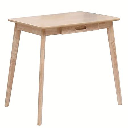 Mesa auxiliar, escritorio de madera maciza, escritorio de ...