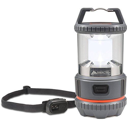 Ozark Trail 20-Lumen Mini Headlamp and 300-Lumen Lantern Combo Pack
