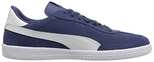 White PUMA Mens puma Indigo Blue PUMA Cup Mens Sneaker Astro Rv4x7Rqna