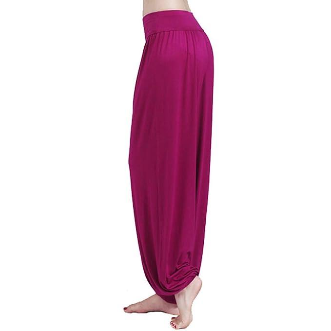YUTING Mujer Pantalones de Yoga Pantalones Deportivos ...
