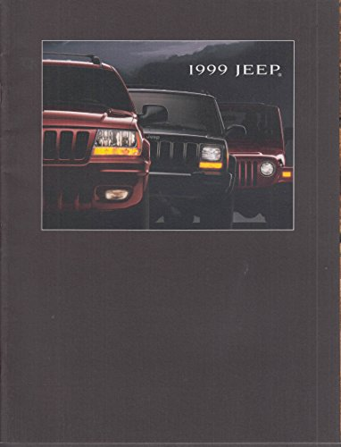 1999 Jeep Sales Brochure Grand Cherokee / Cherokee / Wrangler