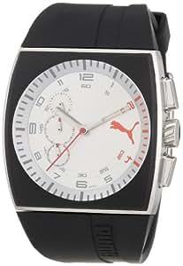 Puma A.PU102471001 - Reloj analógico para caballero de plástico Resistente al agua multicolor