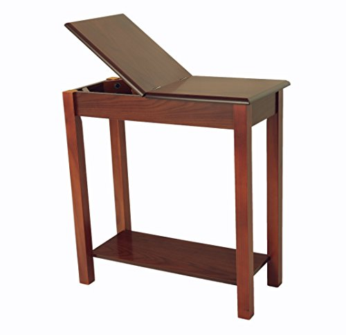 Frenchi Home Furnishing Chairside Storage (Cherry Mission End Table)