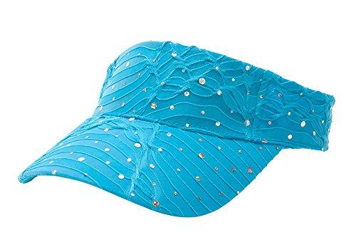 Glitter Sequin Visor in 19 Assorted Colors - (Glitter Visor)