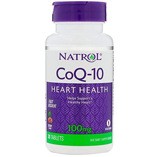 Natrol CoQ-10 Fast Dissolve Cherry -- 100 mg - 30 Tablets