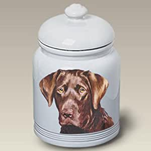Amazon.com: Chocolate Labrador Retriever Dog Cookie Jar by