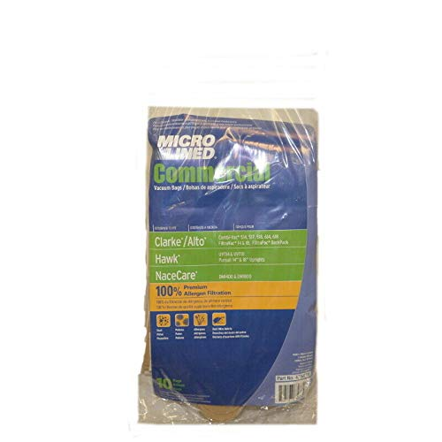 DVC Clarke Alto Combi Vac CL-50721B Micro Allergen Vacuum Cleaner Bags [150 Bags ]