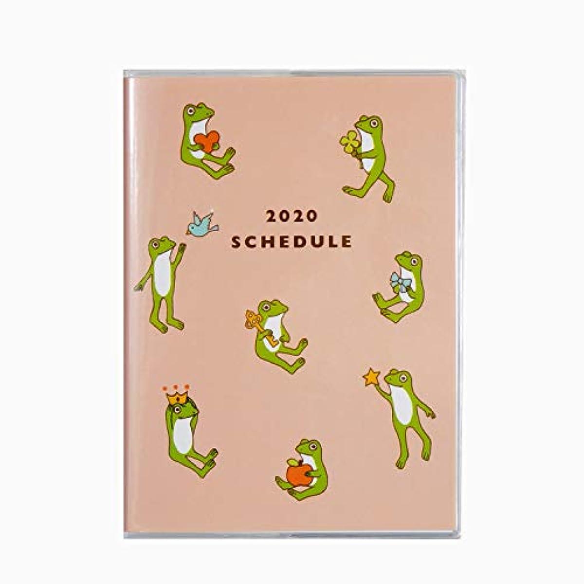 [해외] 2020년 다이어리 그리팅 라이프 개구리 A6