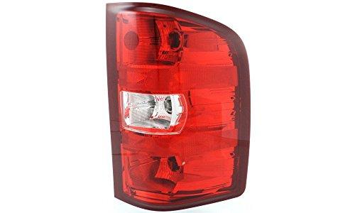 Tail Light for 2007-2013 Chevrolet Silverado 1500 & 2007-2010 Silverado 2500 HD Right Side Replaces Partslink# GM2801207