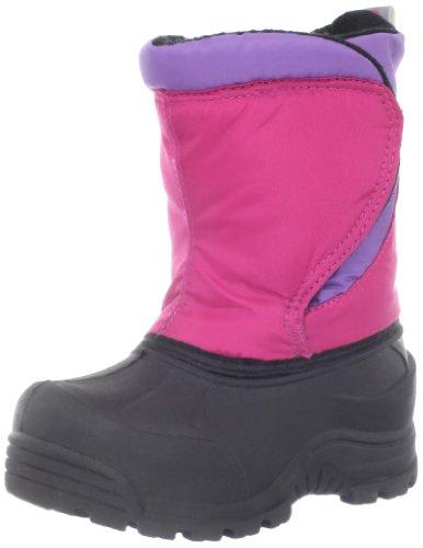 Triple T Snoqualmie Boot (Toddler),Fuchsia/Purple,5 M US Toddler ()
