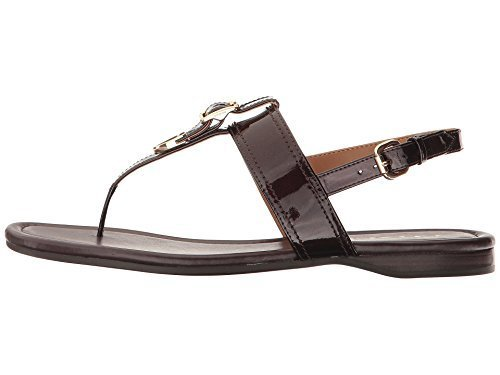 Coach Womens Cassidy Split Toe Casual T-Strap Sandals, Oxblood, Size 6.5