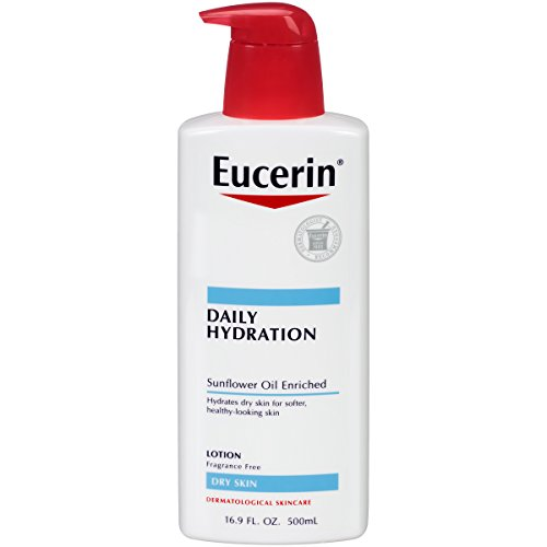 Daily Replenishing Cream (Eucerin Daily Hydration Moisturizing Lotion, Fragrance Free 16.9 oz (Pack of 3))