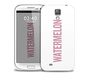 watermelon white custom beyonce Samsung Galaxy S4 GS4 protective phone case