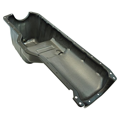 Cost Oil Replacement Pan (Engine Oil Pan for Jeep Wrangler Comanche Pickup Truck Grand Cherokee 4.0L)