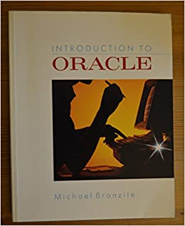 Book Introduction to ORACLE
