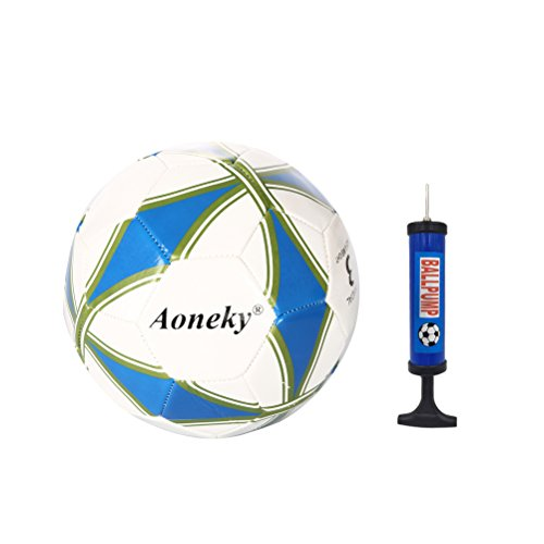 Aoneky Office Size 3 Soccer Ball for Kids Aged 1 - 8 Years Old