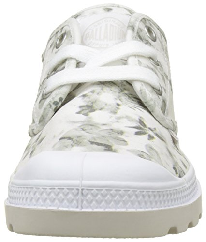 Oxford Floral Print LP White Blanc Basses Femme Moonbeam Palladium Sneakers Pampa 5WBzFF