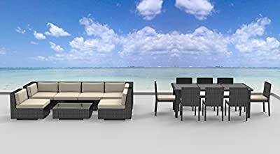 Urban Furnishing.net - Dining and Sofa Sectional Set