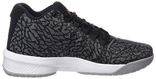 Wolf NIKE Basketballschuhe Jordan Black Grey B White 5 Grau Herren 001 Fly 881444 Red EU 42 Gym rr8TS