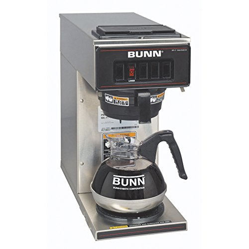 Find a BUNN 13300.0001 VP17-1SS Pourover Coffee Brewer with 1 Warmer, Stainless Steel