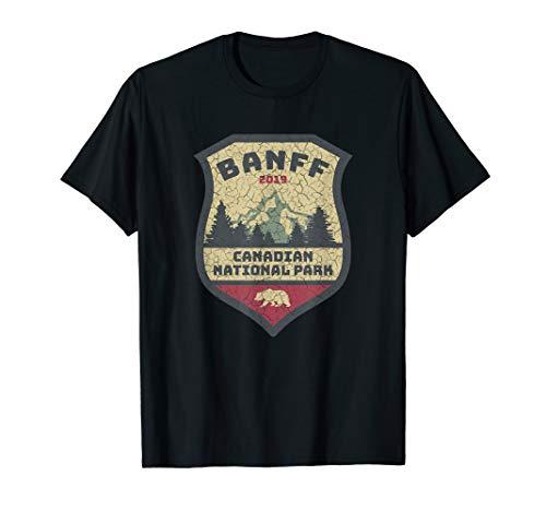 Vintage Retro Canadian Banff National Park Shirts Souvenirs T-Shirt