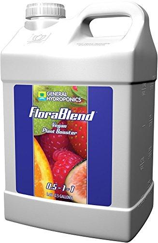 General Hydroponics Flora Blend for Gardening, 2.5-Gallon