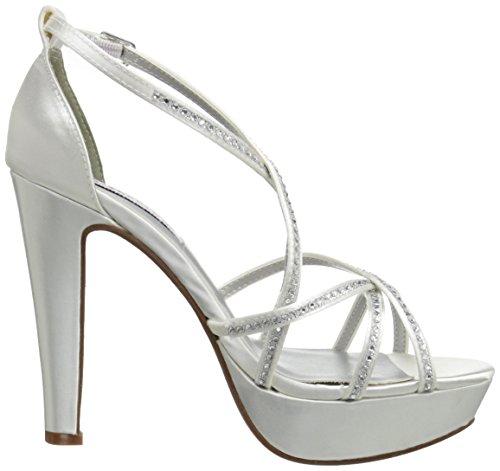 Dyeables, Kvinna Inc Taylor Platform Sandal Vit