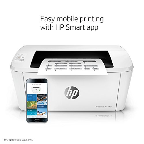 HP LaserJet Pro M15w Wireless Laser Printer (W2G51A) by HP (Image #6)