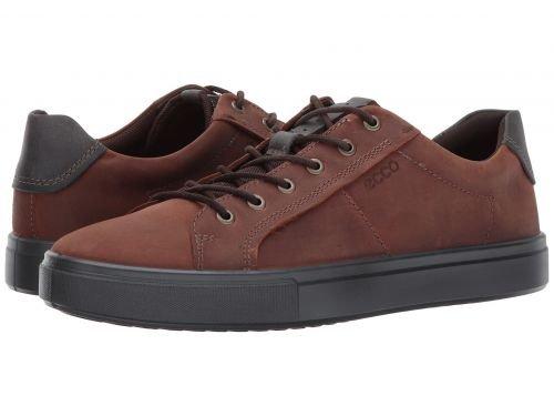 ECCO(エコー) メンズ 男性用 シューズ 靴 スニーカー 運動靴 Kyle Street Tie - Cognac [並行輸入品] B07C8RBXY7