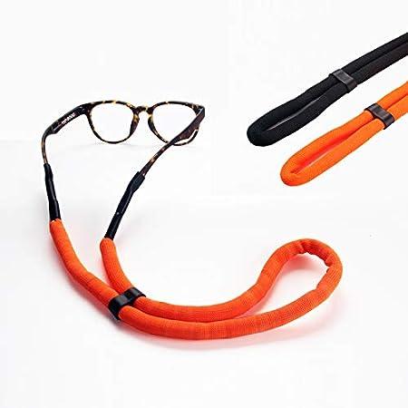New 5 Adjustable Sports Glasses Chains Sunglass Strap Neck Holder Cord Black
