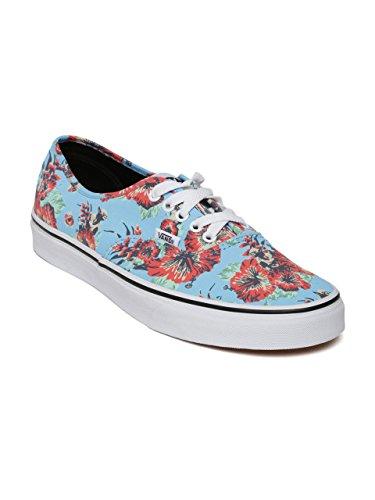 0a8dfbc350 Vans Unisex Sky Blue Floral Print Casual Shoes-9UK California-Era Ca Blue  Sneakers