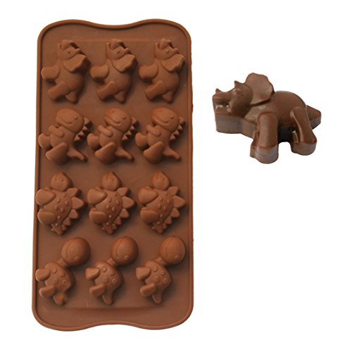 BestWare Perfect Dinosaur Baking Silicone Mold Chocolate Cak
