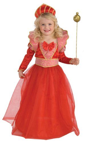 Ruby Queen Costume, Child's Small