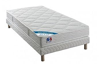 Fee Dodo Conjunto: colchón muelles ensacados - Grosor 22 cm + somier - 90 x 190 cm - feedodo: Amazon.es: Hogar
