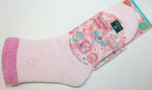 UPC 073377974922, Mango Butter Moisturizing Thermal Socks: Pink, NEW!