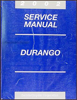 2002 dodge durango repair shop manual original amazon com books rh amazon com 2002 dodge durango slt owners manual 2002 dodge durango manual pdf