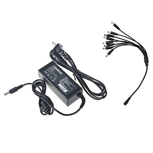 monoprice 16 channel cctv camera power supply - 12vdc