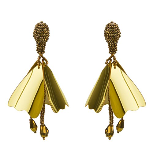 Flower Bead Earrings - 6