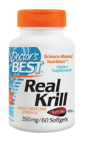 Doctors Best Krill 350mg 60 Count