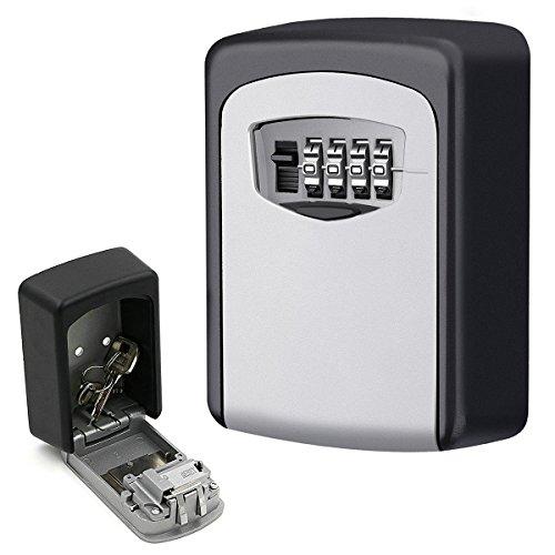 Key Lock Box, Wall Mounted Key Lock Box Keeper, Key Safe Sto