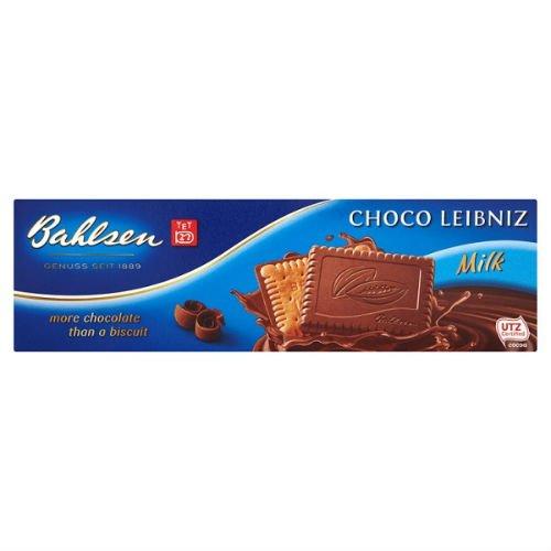 Bahlsen Choco Leibniz Milk Biscuits 125G Case Of 6